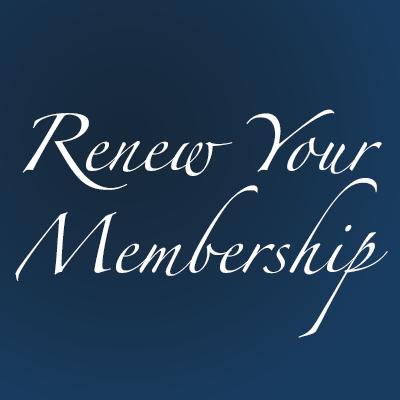 Renew Your Membership Now